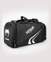 Sportovní taška VENUM Trainer Lite Evo Sports - černo/bílá