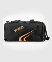 Sportovní taška VENUM Trainer Lite Evo Sports - černo/zlatá