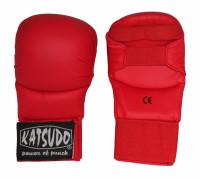 Karate rukavice bez palce Katsudo KLASIK - modré