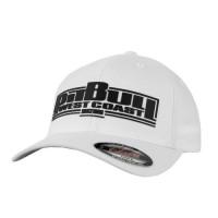 PitBull West Coast Kšiltovka Full cap BOXING - bílá