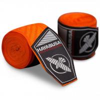 Bandáže Hayabusa Perfect Stretch 2 - Oranžové Maze