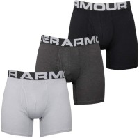 Boxerské Trenýrky UNDER ARMOUR Men's Charged Cotton Underwear - černé