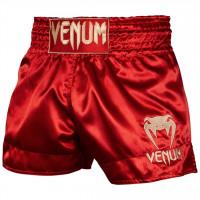 Thai trenýrky VENUM CLASSIC - červeno/zlaté