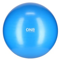 Gymnastický míč ONE Fitness Gym Ball 10 modrý, 75 cm
