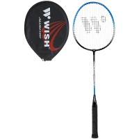 Badmintonová raketa WISH Steeltec 216, modro/černá