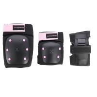 Souprava chráníčů NILS Extreme H709 černá-růžová