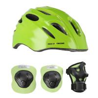 Helma s chrániči NILS Extreme MTW01+H210 zelená
