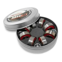 ABEC 9 RS CHROME LOŽISKA NILS EXTREME (8 KS BOX)