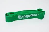 Power Bands - posilovací elastické gumové expandéry Zelená - 208cm x 0,45cm x 4,5 cm - 23KG-55KG