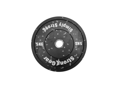 Hi Temp bumper plate gumový 5kg – 50mm