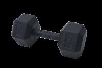 Jednoruční činky - gumový úchop 25 kg - 50 kg 37.5 kg