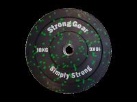 Hi Temp bumper plate gumový 10kg – 50mm