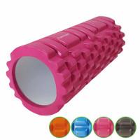 Masážní válec Foam Roller TUNTURI 33 cm / 13 cm růžový