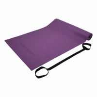 Jóga podložka TUNTURI PVC 4 mm purpurová