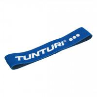 Odporová guma textilní TUNTURI Resistance Band - těžká modrá