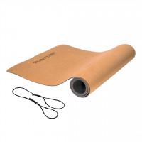 Korková podložka na jogu TUNTURI Cork TPE Yoga Mat