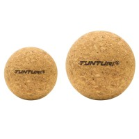 Korkové masážní míčky set TUNTURI Cork Massage Ball - 2 kusy