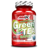 Amix Green Tea Extract with Vitamin C 100 kapslí