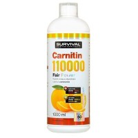 Survival L-Carnitin 110000 1000 ml pomeranč