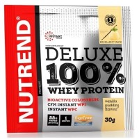 Nutrend Deluxe 100% Whey Protein 30g vanilkový puding