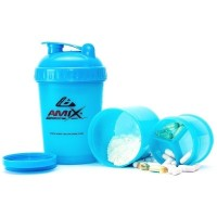 Amix Shaker Monster Bottle Color 600 ml žlutý