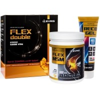 Evris Flex Double MSM 800 g citron + Reco Gel