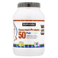 Survival Gourmet Protein 50 Fair Power 2000 g čokoláda