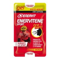 Enervit Gel One Hand s kofeinem 2×12,5 ml citrus